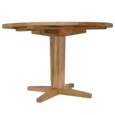 Club Teak 48 Round Teak Table Top Teak Table Outdoor Dinning Table Outdoor Patio Furniture Sets