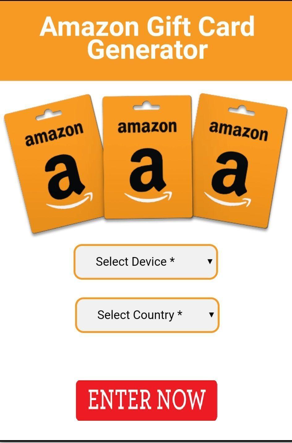 Free amazon gift card enter now to win a new amazon gift