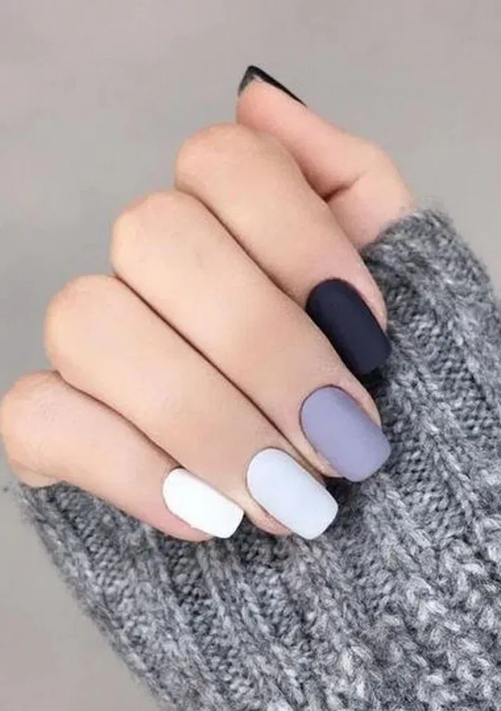 27 stunning nail calm color for winter fashion 7 * remajacantik
