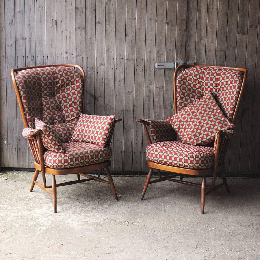 Фото винтажные кресла и стулья