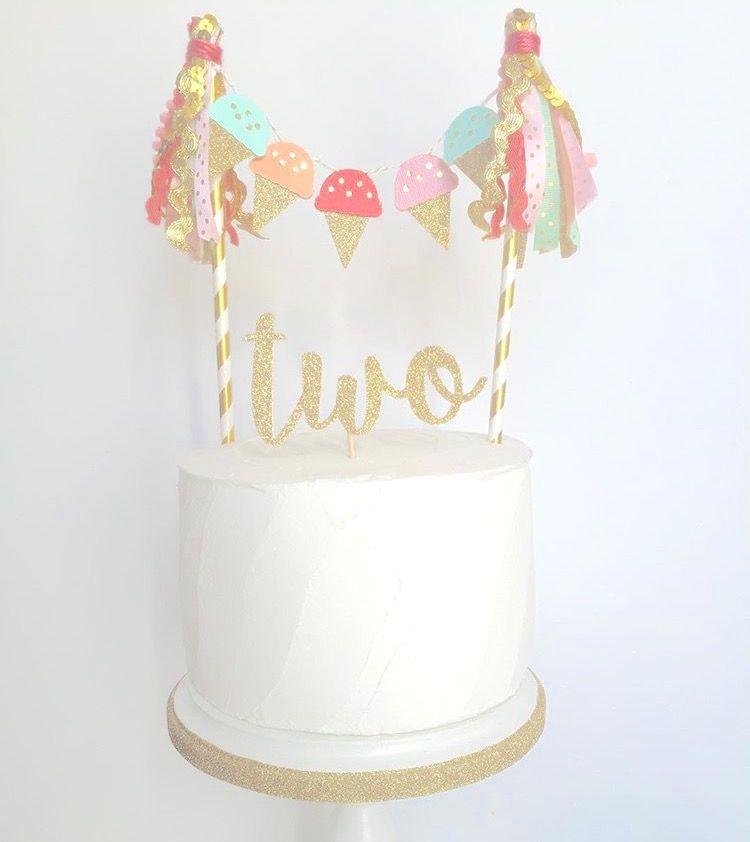 Ice Cream Cake Topper By Jules Kenna Ig Julesandkenna With