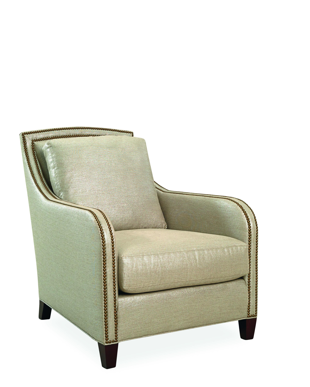 Lee Industries Chair In Veranda Silver Lee Sofas Chairs