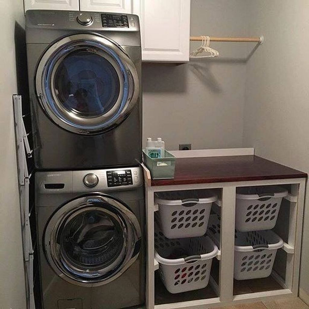42 Minimalist Small Laundry Room Organization Ideas images