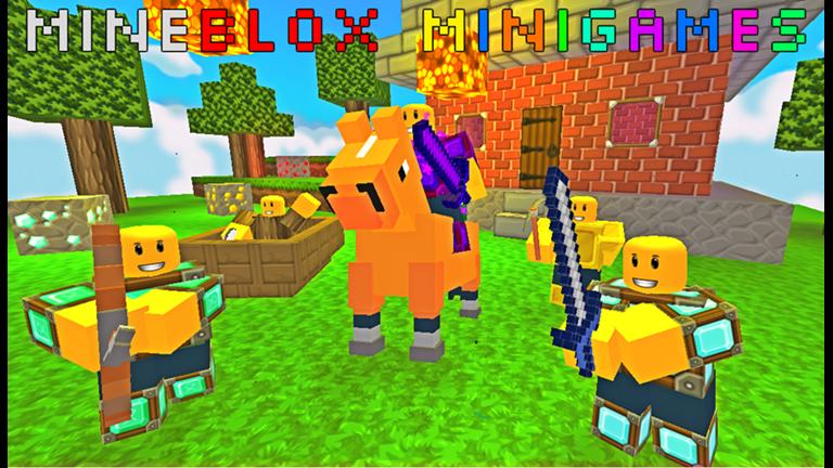 Minecraft Minigames [UPDATES] Roblox Roblox, Juegos