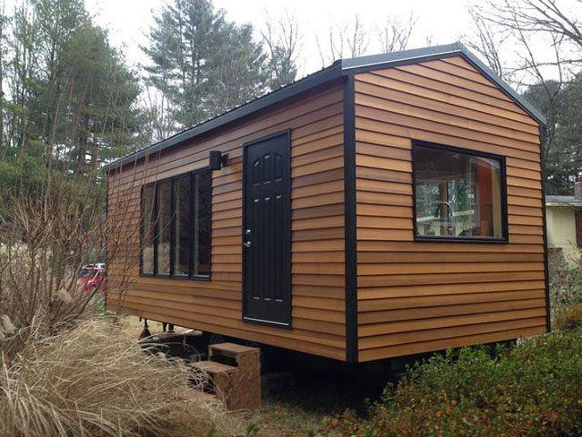 Tiny Home Designs: 210 Sq Ft MODERN Tiny House ~ WITH NO LOFT!