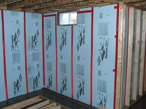 How To Insulate Basement Walls With Foam Board Can Save Energy And Money Insulate Basement Basement Insulation Insulating Basement Walls Basement Wall Panels