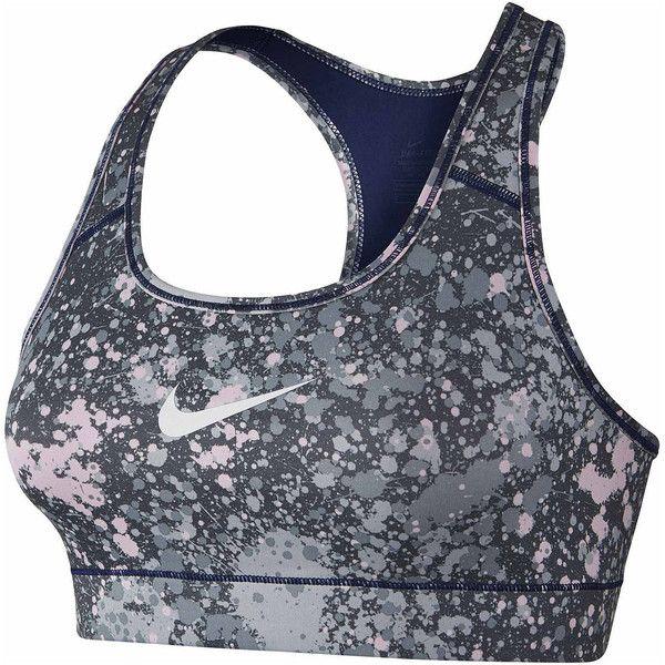 1b983458a1481 Nike Racerback Sports Bra - Gray - Size XS - Female - Adult - Wolf ...