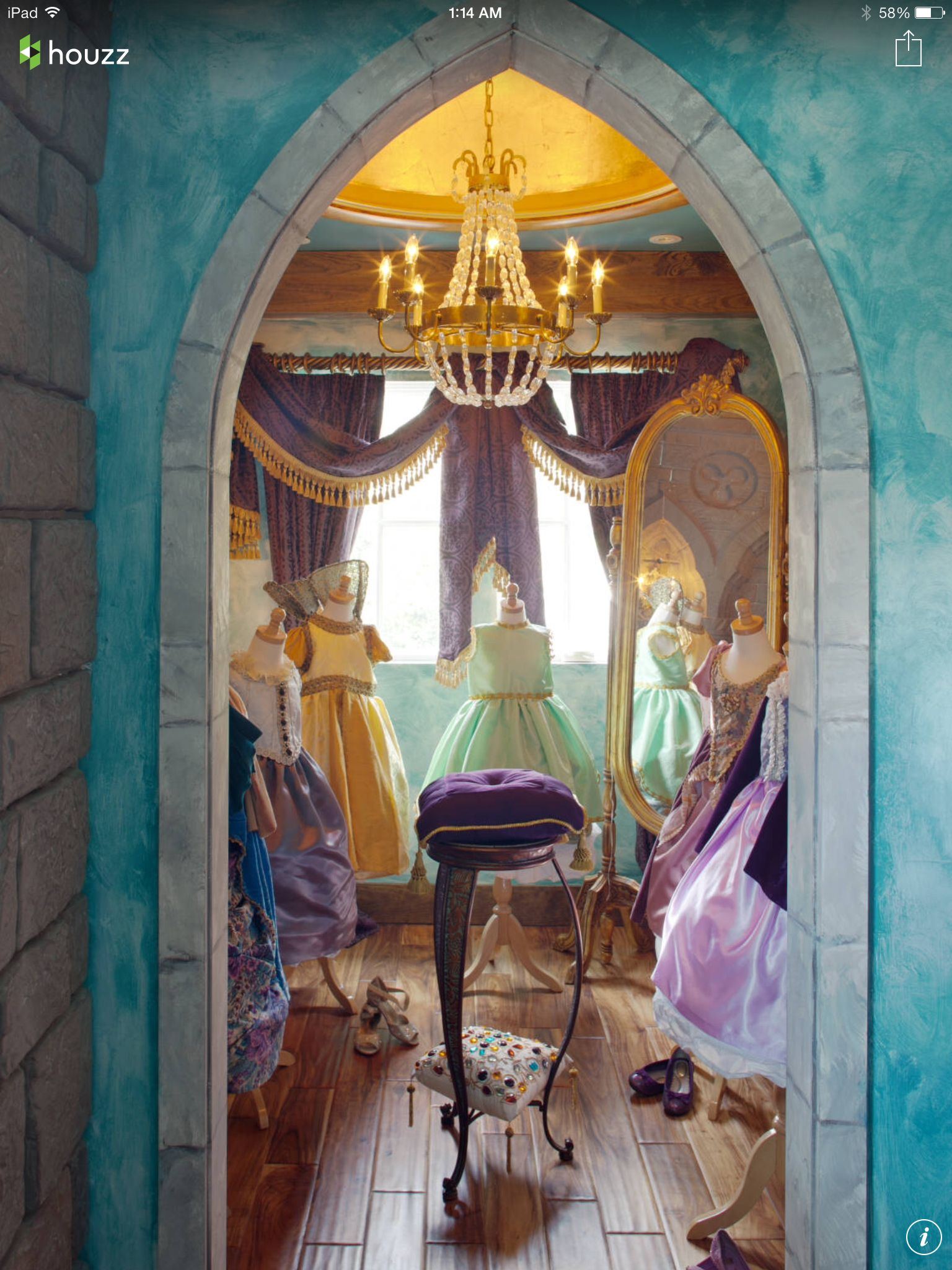 looks like the perfect princess room-adults allowed