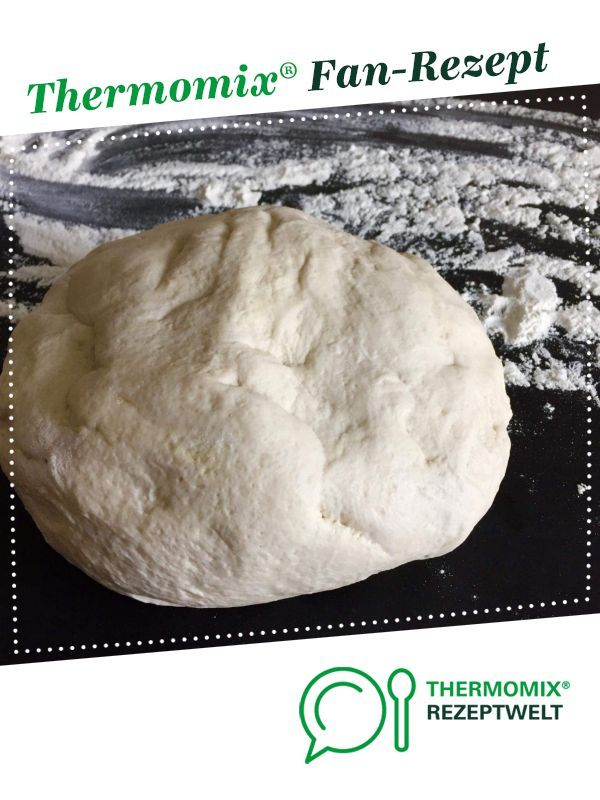 Pizzateig aus Neapel - Original   - thermomix -