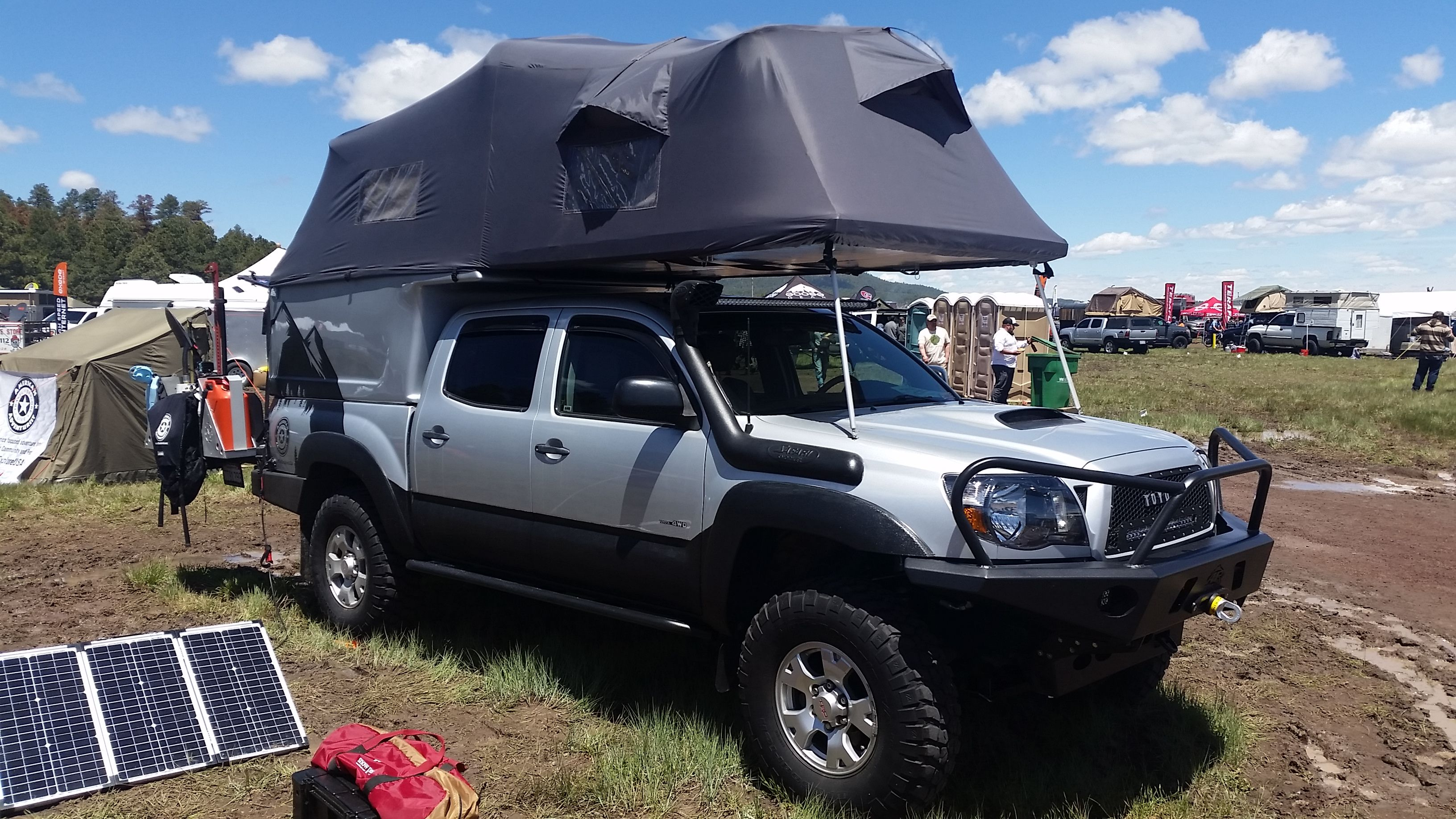 Overland Expo 2015 Tacoma Toyota Ih8mud Expedition