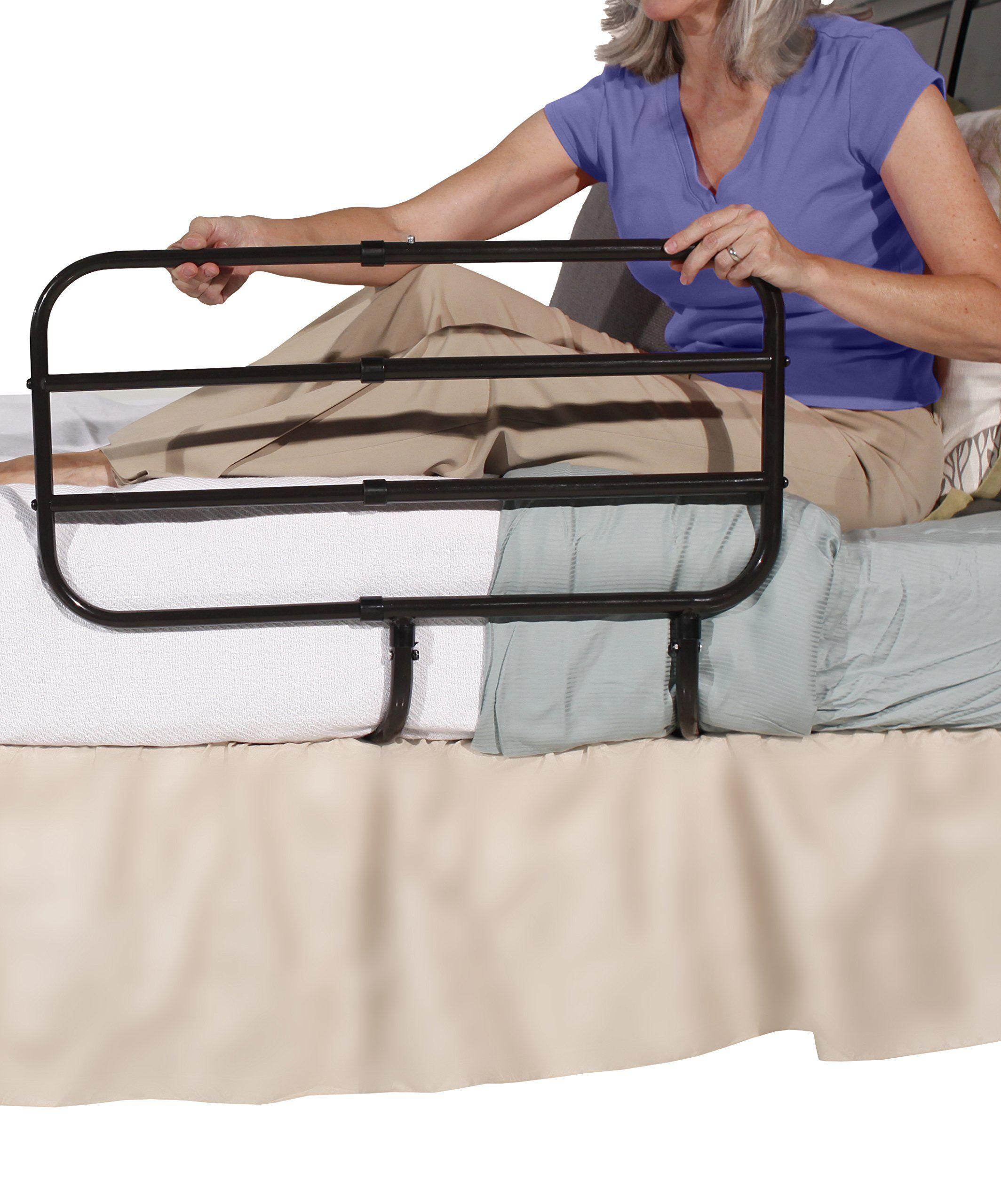 safety com medline hospital medokare amazon bed dp adjustable installation for easy frame with adults rails height grade toilet elderly
