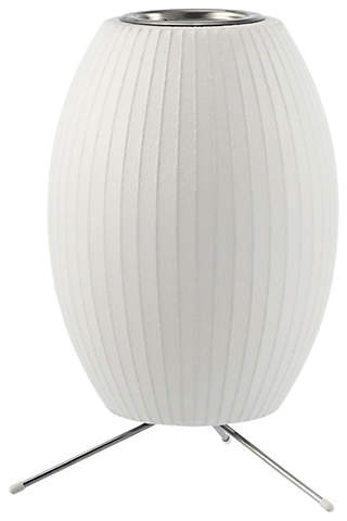 Nelson Cigar Tripod Lamp Design Within Reach Modern Table Lamp Tripod Table Lamp Bubble Table Lamp