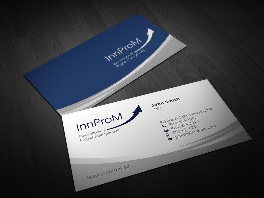 Business Card FR Innprom Innovations  Business Card Design
