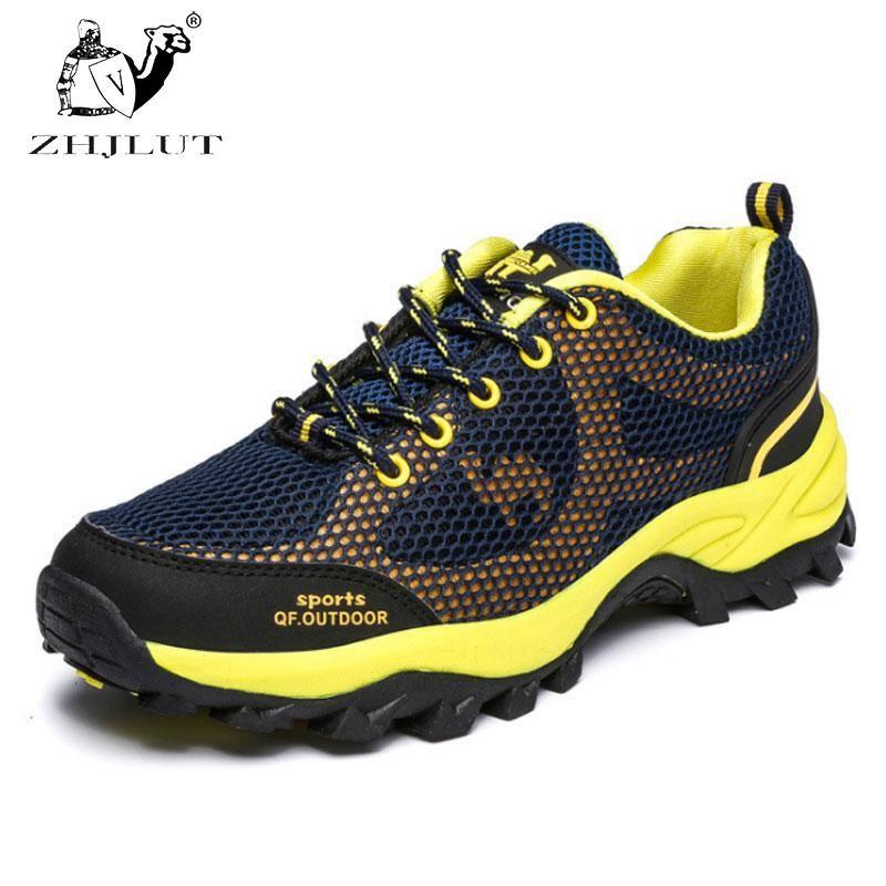 Plein Nouvelle Respirant En Résistant Hommes Zhjlut Randonnée Chaussures À Air L'eau wBtxpx