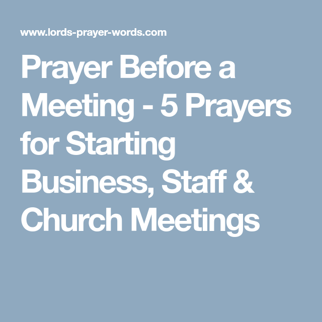 5 Prayers For Starting Business