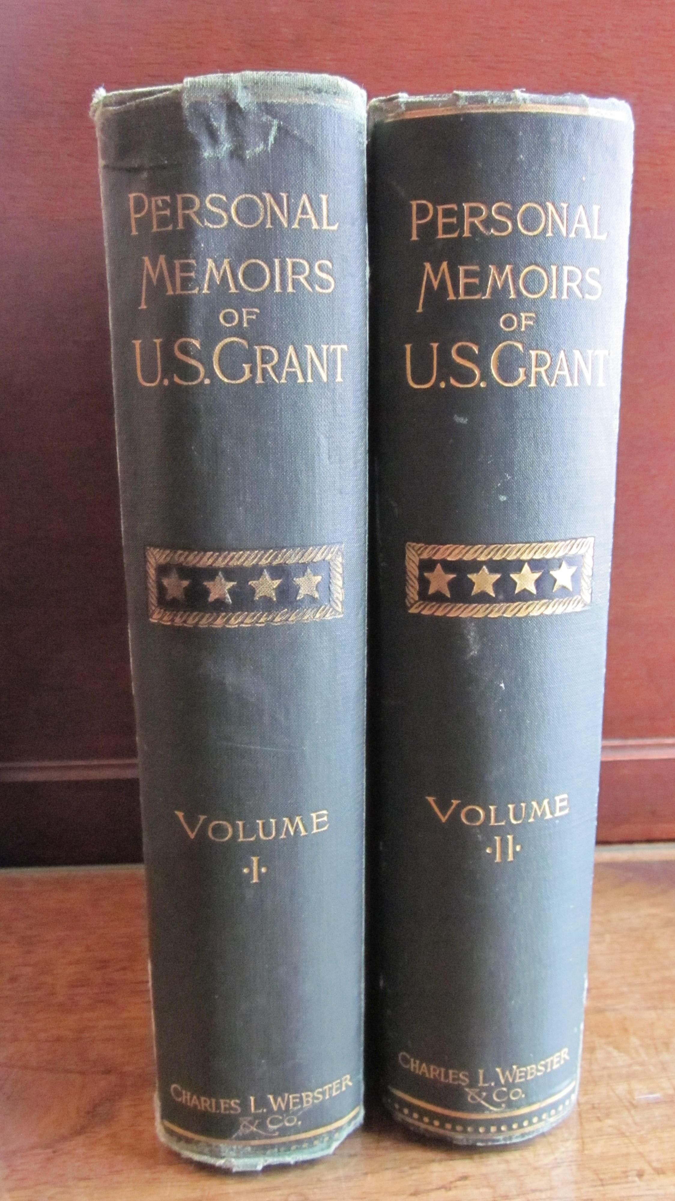 Bookreporterlove memoirs ulysses ulysses grant