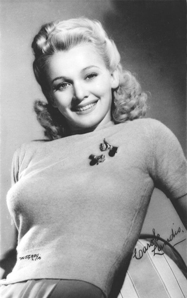 49 Lovely Photos of Carole Landis - the Tragic Beauty in the 1940s