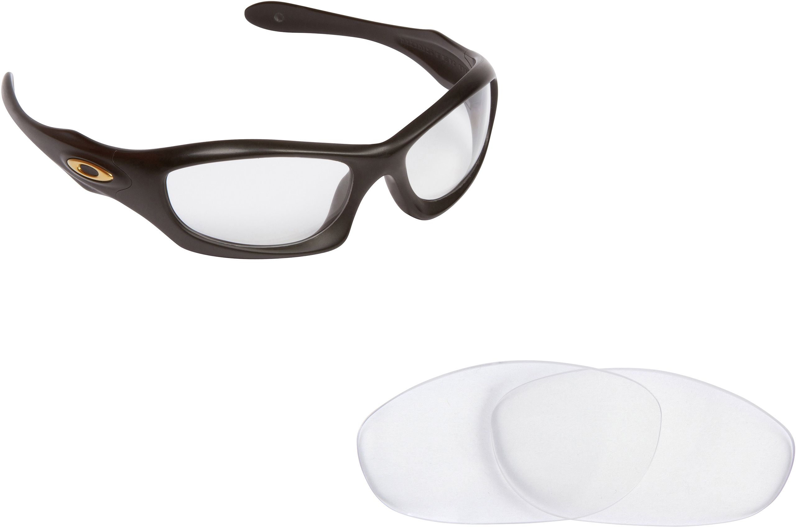 c0968f3c9d54a New SEEK Replacement Lenses for Oakley Sunglasses MONSTER DOG Crystal Clear  SALE