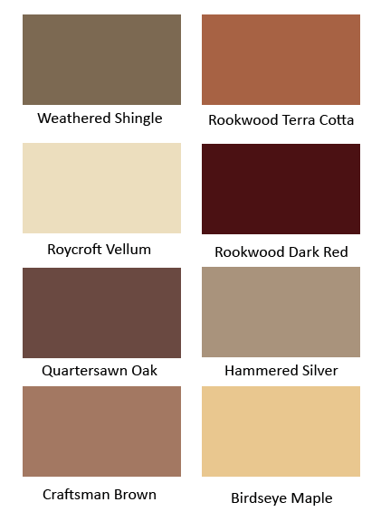 Roycroft Arts Crafts Colors From Sherwin Williams Preservation