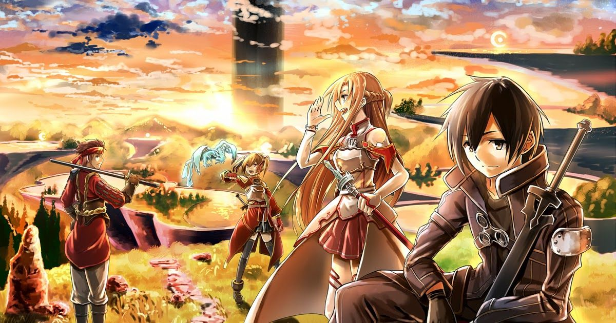 Wallpaper Sword Art Online Ps4 Feel Free To Download Share Comment And Discuss Every Wallpaper You Like Alicization Wallpapers Di 2020 Gambar Anime Gambar Fotografi