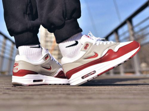 Nike Air Max 1 Jewel Rare Ruby custom (by Bibz3w) | Sneakers