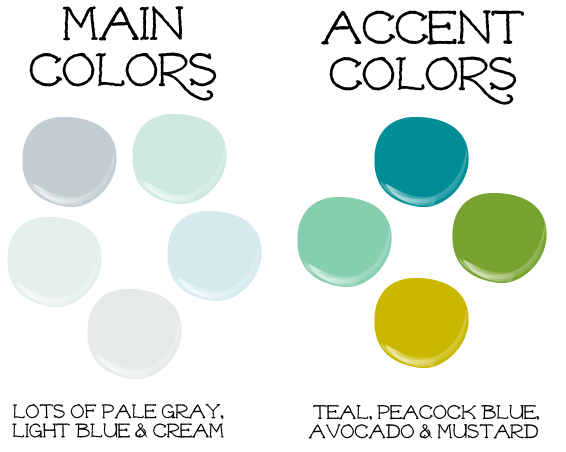 Life Blessons: Playing With Paint Colors: Choosing A Palette For Our Entire  House