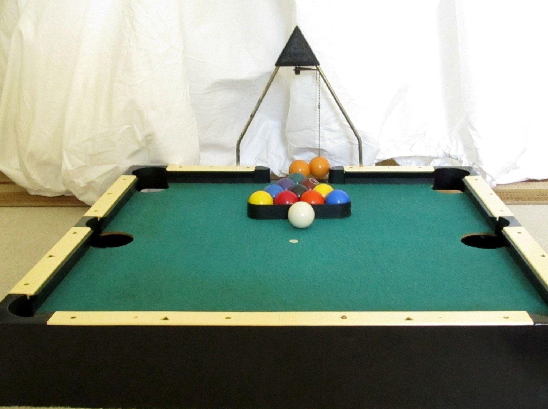 VINTAGE Aurora Skittle Pool Table Top Pool Game Via Etsy - Kickball pool table
