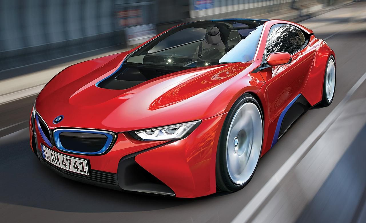 Photo of 2015 BMW i8 (artist's rendering) Pictures | Photo Gallery | Car and Driver