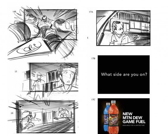 Jeff Errico World Of Warcraft storyboard 3 Story Board - commercial storyboards