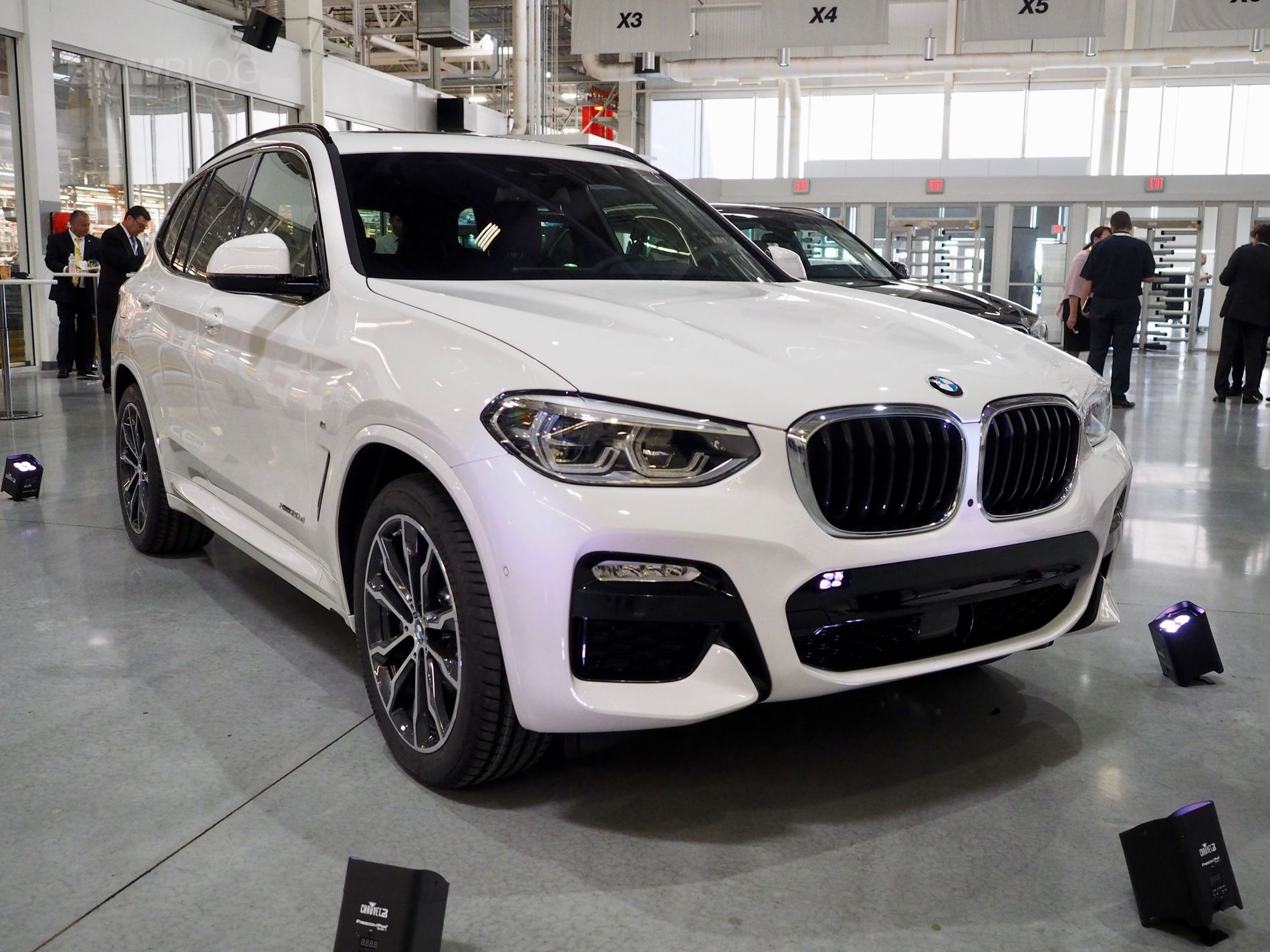 New bmw live photos from spartanburg plant