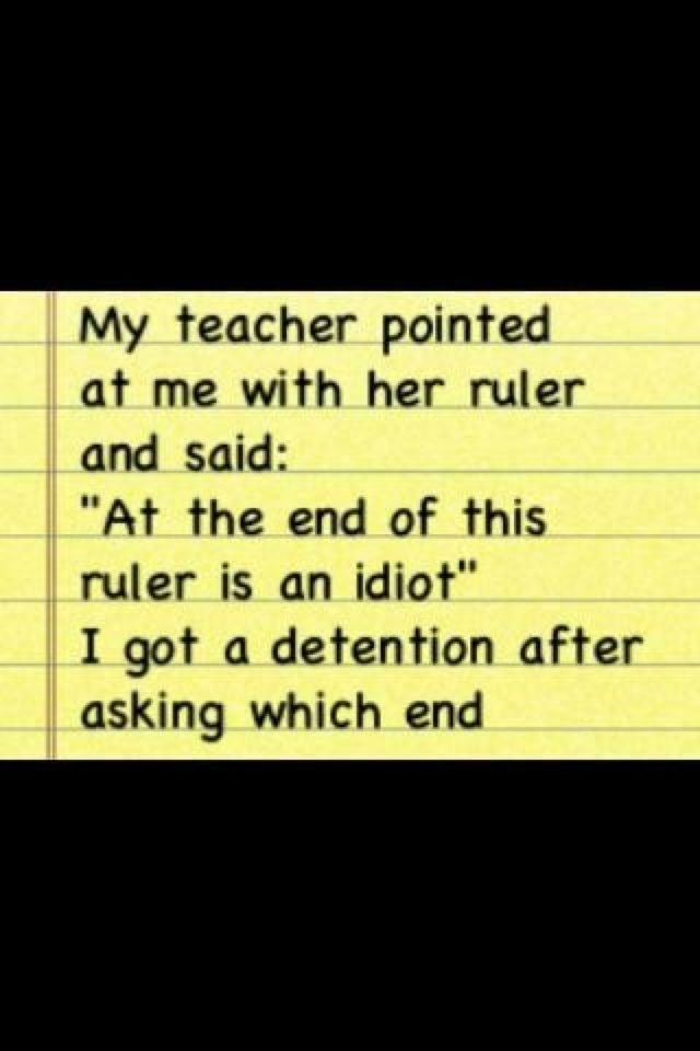 That teacher was asking for it!!! That's so mean! | Funny ...