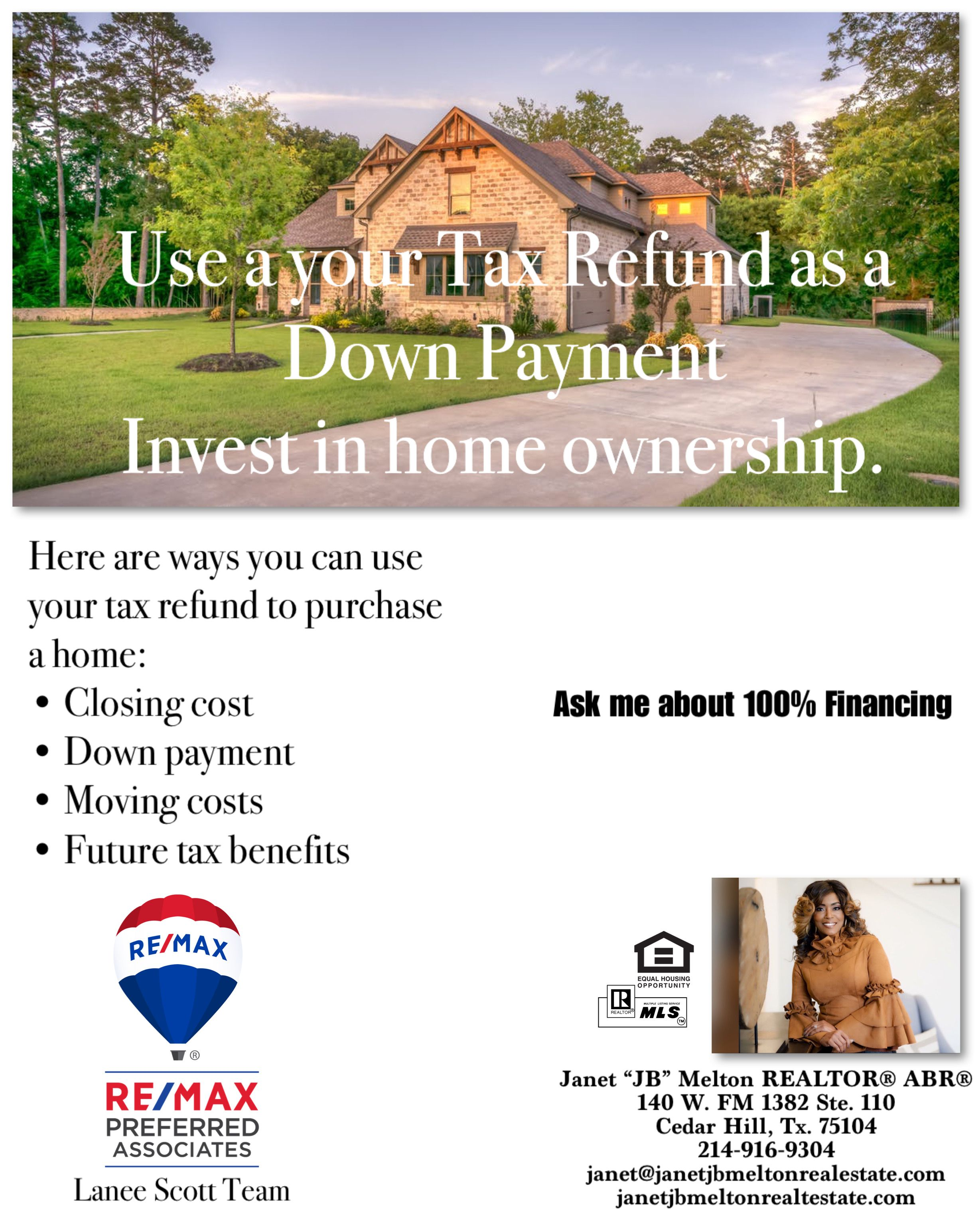 It S Tax Return Season Use Your Tax Refund To Purchase Your