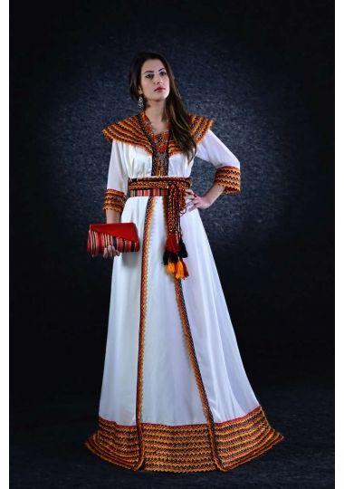Magnifique Robe Kabyle pour mariage pas cher