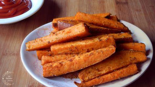 Sweet Potato Fries (Oven Baked)