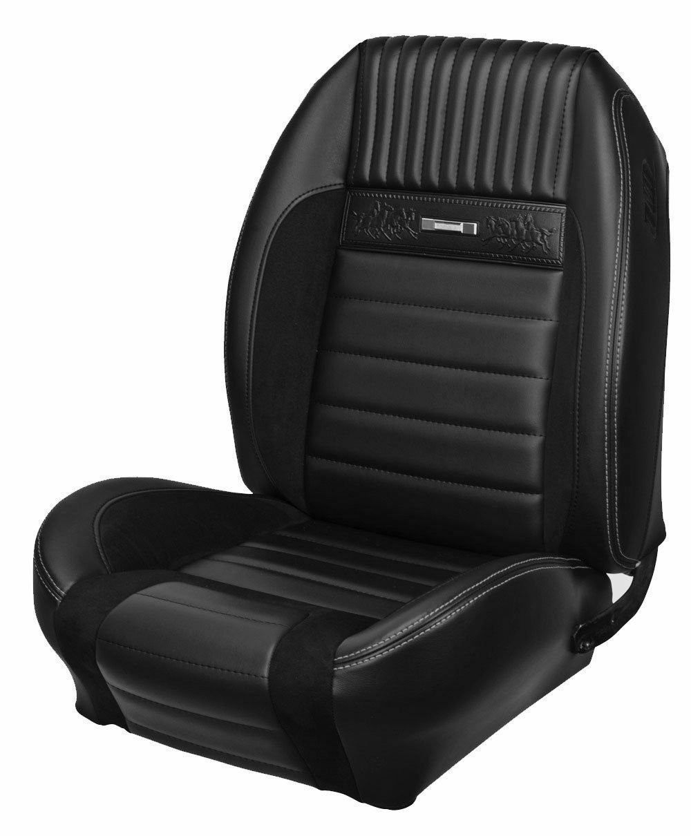 Deluxe pony upholstery for 1964 1966 mustang coupe convertible w bucket seats front only