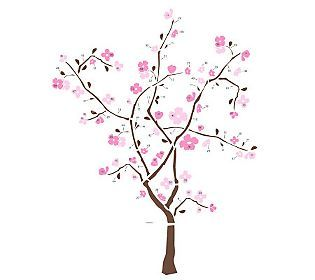Roommates Spring Blossom Peel Stick Giant Wall Decal Qvc Com Blossom Trees Spring Blossom Tree Wall Decal