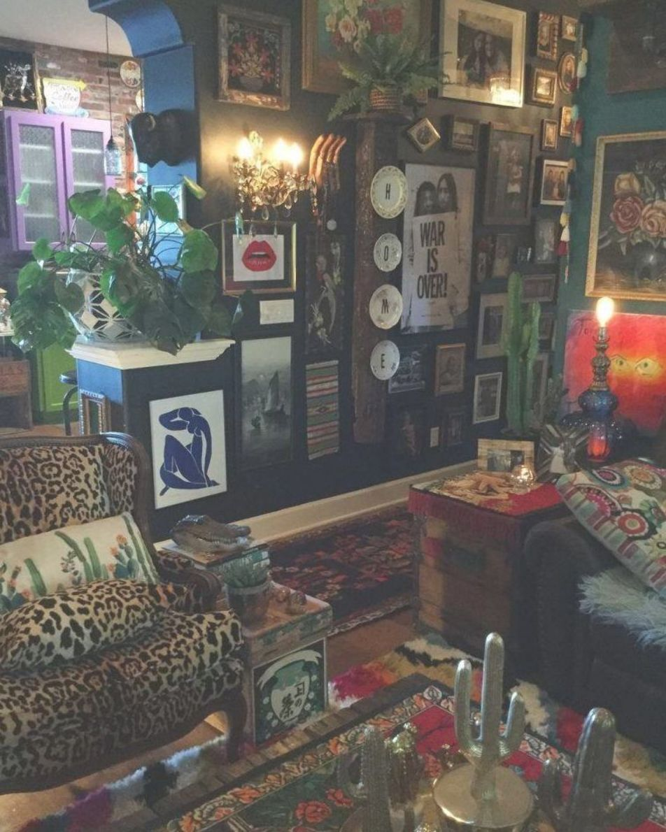 Ideal Eclectic Tropical Living Room You Ll Love Dark Living Rooms Bohemian Style Living