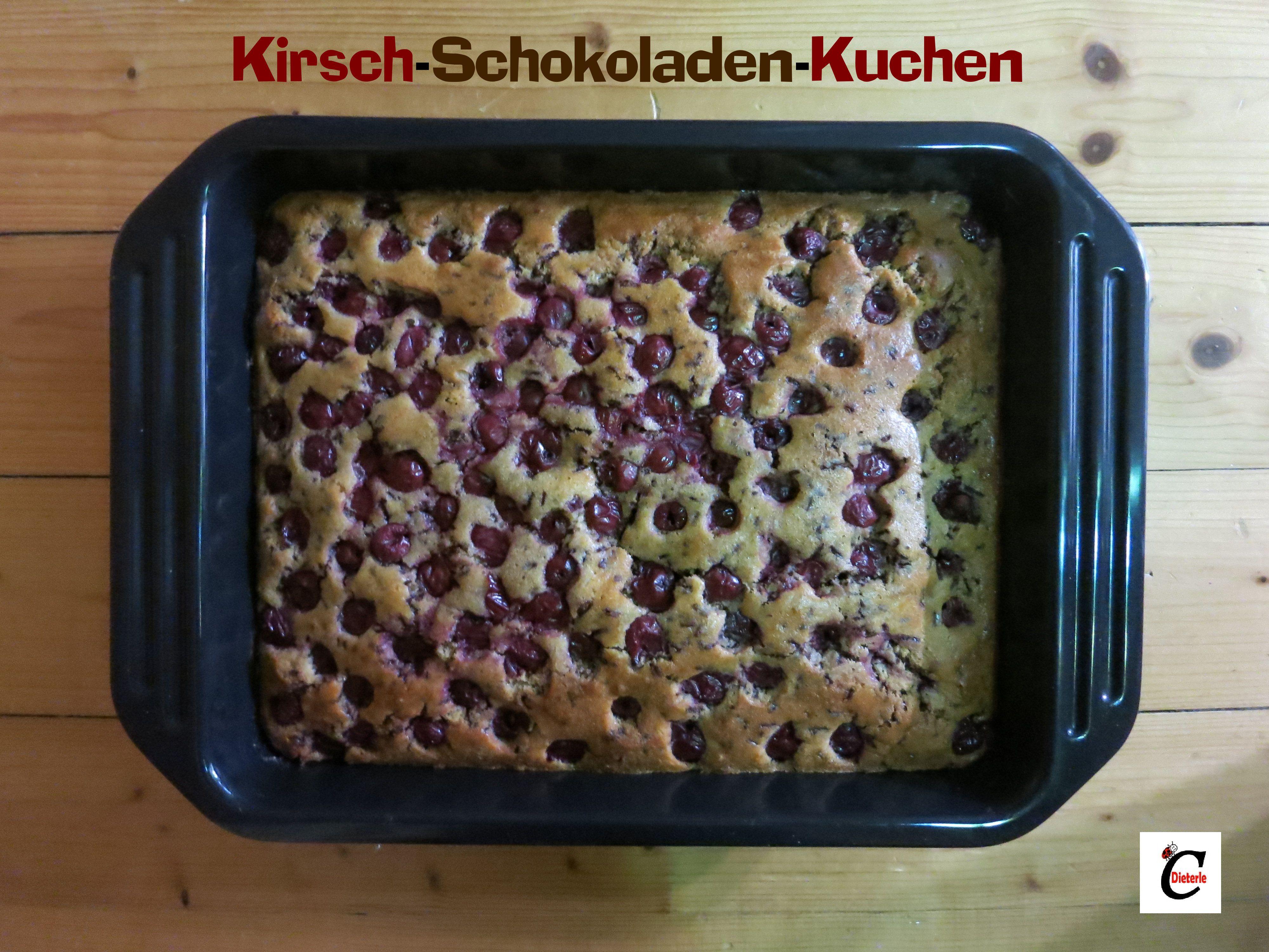 Kirsch-Schokoladen-Kuchen