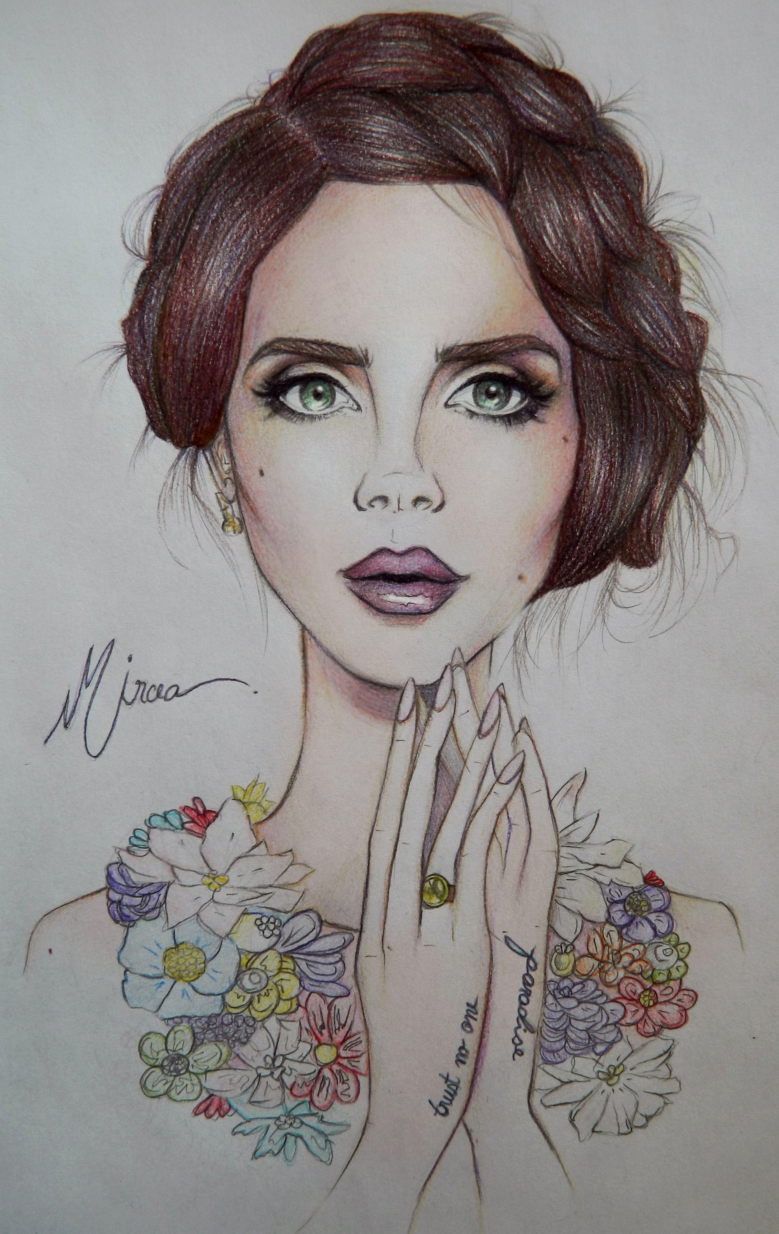 Lana Del Rey #LDR #art | Lana Del Rey ~ ART | Pinterest ...