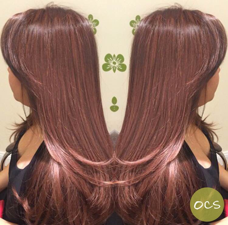 Gorgeous Rose Gold Hues On A Natural Level 2 Hair Color Who Says