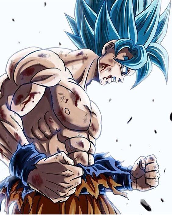 Well-known Como Desenhar Son Goku Deus Super Saiyajim - Clique sob a imagem  WD34