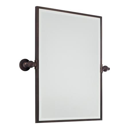 Rectangular Tilt Bathroom Mirror