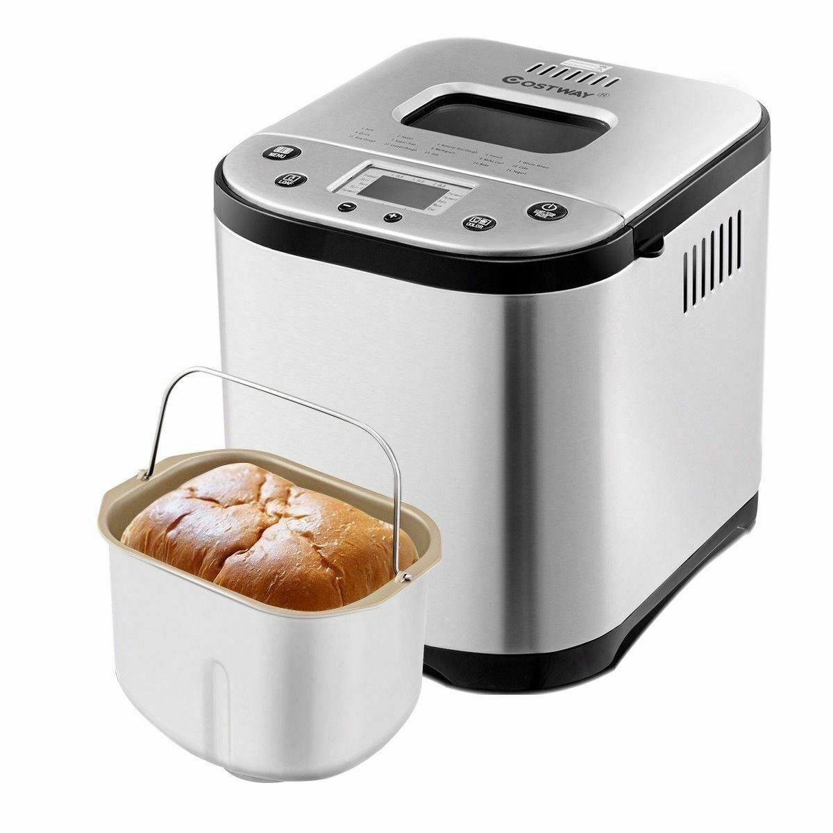 Modern 2 Lb Automatic Programming Stainless Steel Breadmaker Machine Bread Machine Ideas Of Bread Machine Br Bread Machine Bread Maker Bread Maker Machine