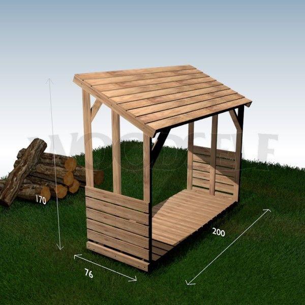 Construire un abri pour bois soi-même Это всё для дачи - construire un garage en bois m