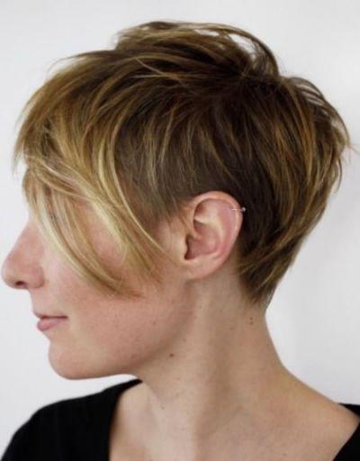 Feathered Pixie With Undercut Best Hair Pinterest Hair Short