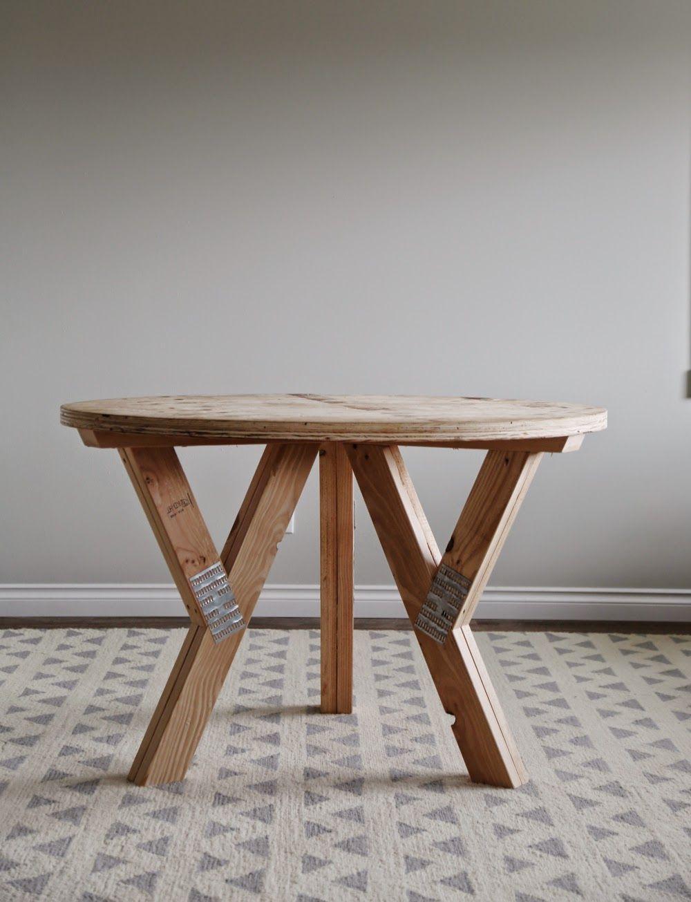 Build A Y Truss Round Table