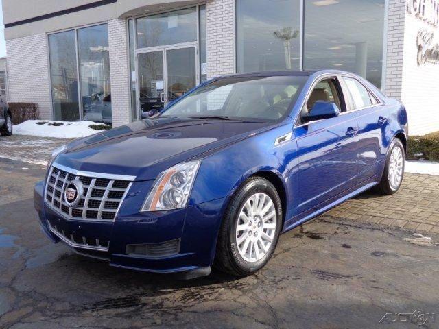 2012 Cadillac CTS, 25,620 miles, $28,999.