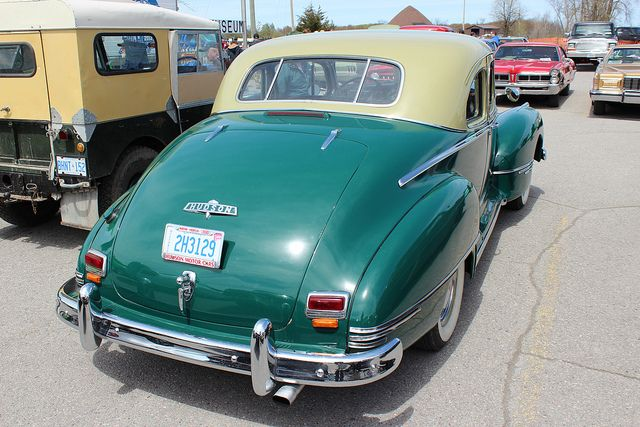 1947 Hudson Commodore Eight coupe