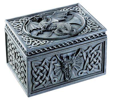 Dragon Celtic Jewelry Box Home for a Dreamer Pinterest Celtic