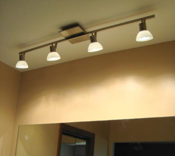Image Result For Bathroom Vanity Track Lighting Ideas In